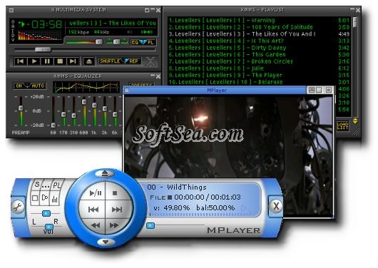 MPlayer Portable Screenshot