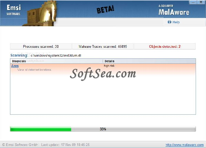 MalAware Screenshot