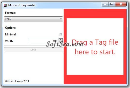 Microsoft Tag Reader Screenshot