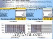 Mortgage Comparison Calculator Screenshot