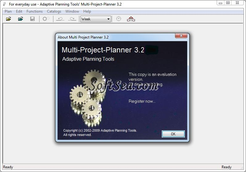 Multi Project Planner Screenshot