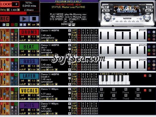 Muzik Maker Screenshot