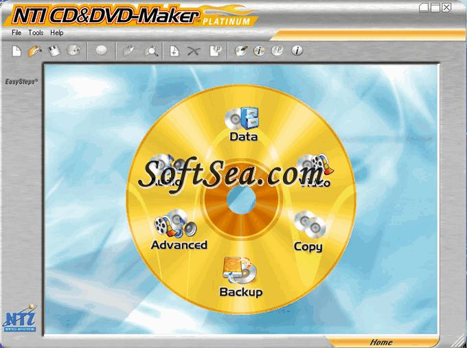 NTI CD&DVD-Maker Platinum Edition Screenshot