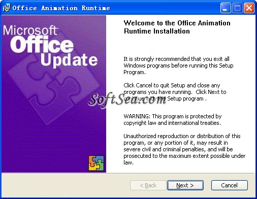 Office Animation Runtime Screenshot