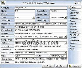 PC Information Screenshot