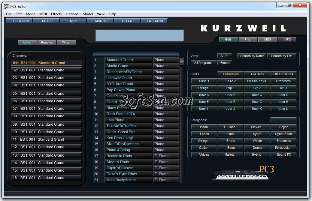 PC3 Sound Editor Screenshot