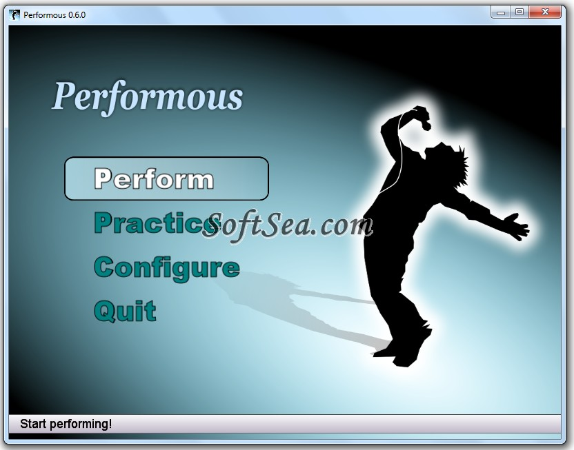 Performous Screenshot