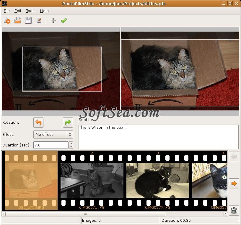 PhotoFilmStrip Screenshot