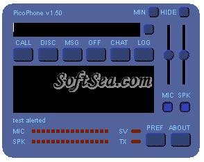PicoPhone Screenshot