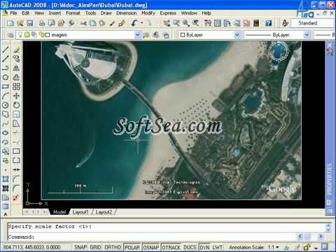 Plex.Earth Tools for AutoCAD Screenshot