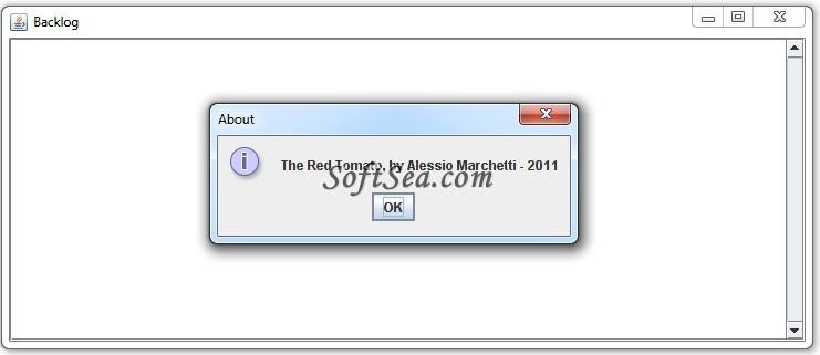 Pomodoro Time Manager Screenshot