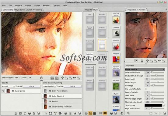 PostworkShop Basic Edition Screenshot