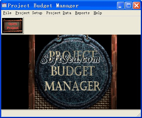 Project Budget Manager Screenshot