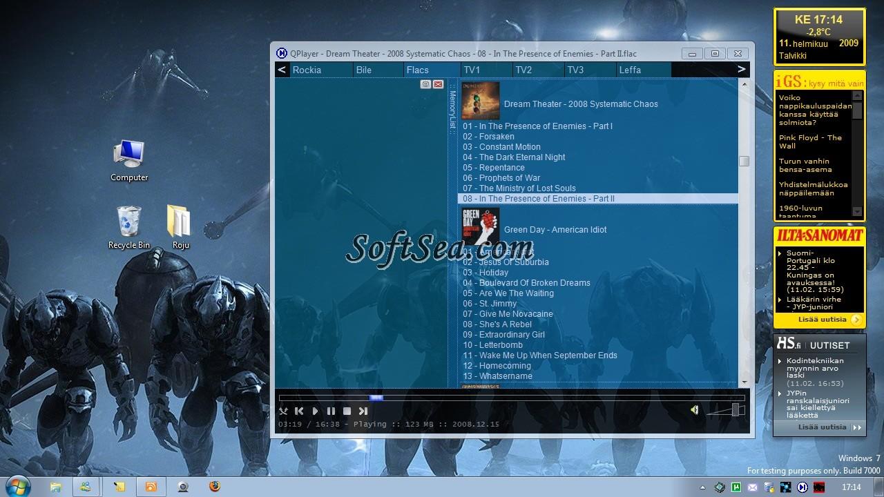 QPlayer Screenshot