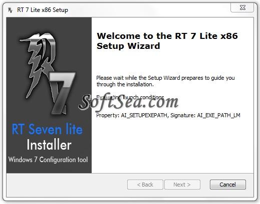 RT Seven Lite Screenshot
