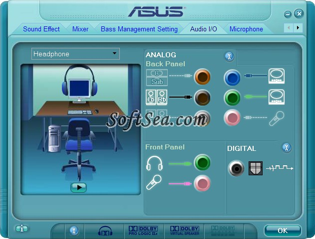 Realtek ALC883 Audio Driver Screenshot