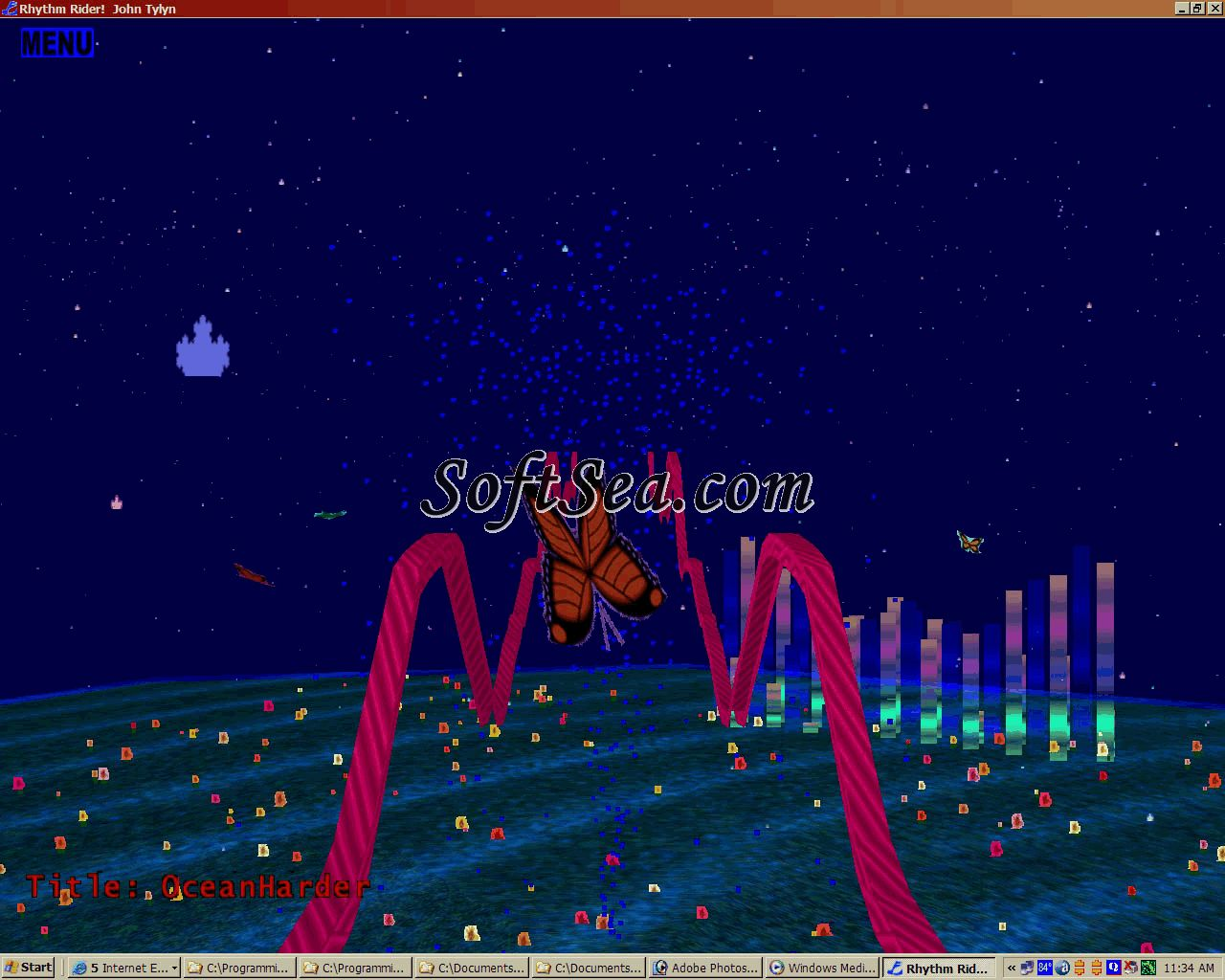 Rhythm Rider Screenshot