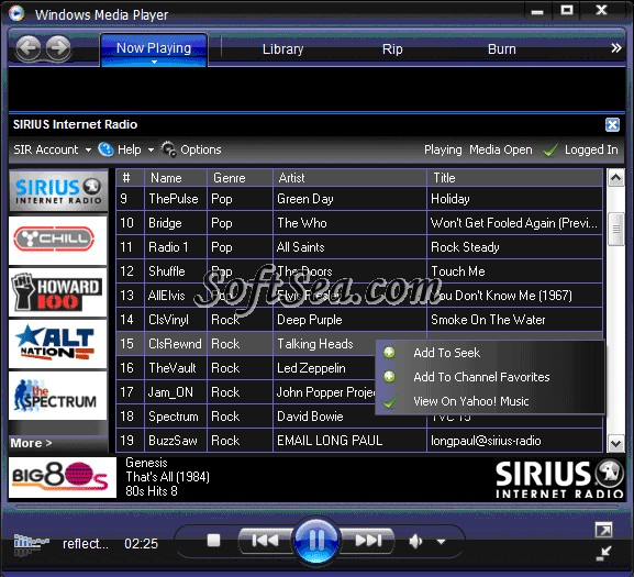 Internet video player software download