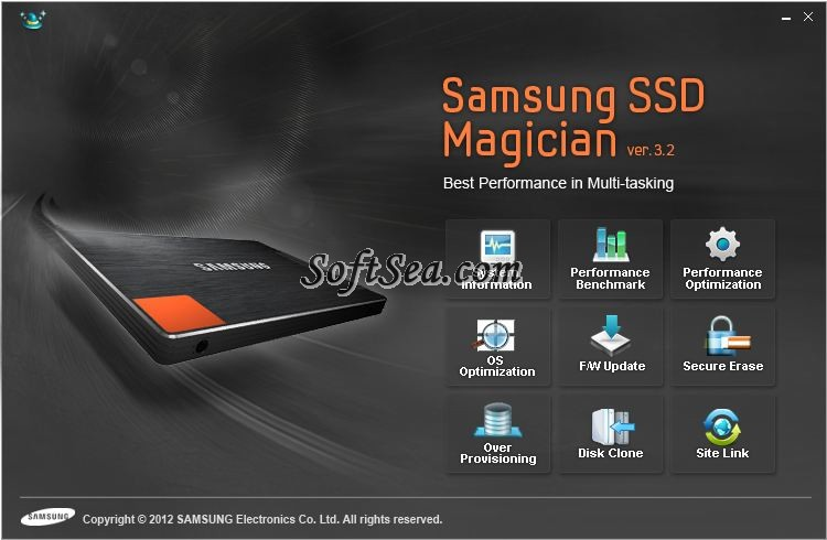 Samsung SSD Magician Screenshot