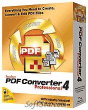 ScanSoft PDF Converter Professional Screenshot