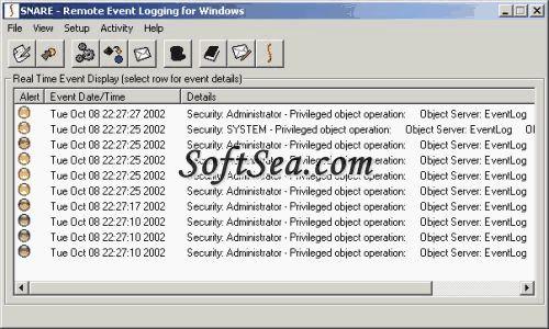 Snare Agent for Windows Screenshot