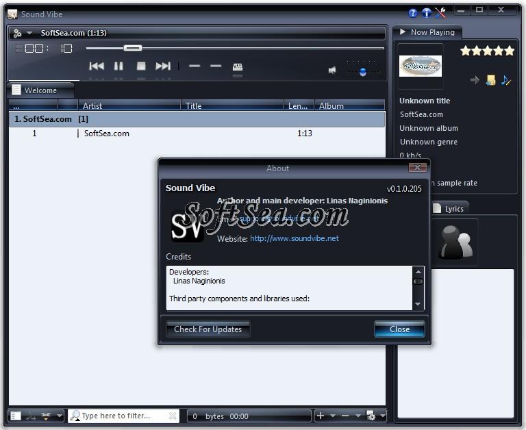 Sound Vibe Screenshot