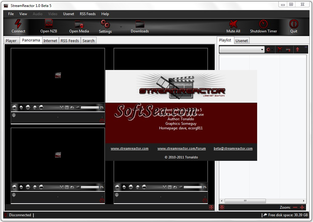 StreamReactor Screenshot