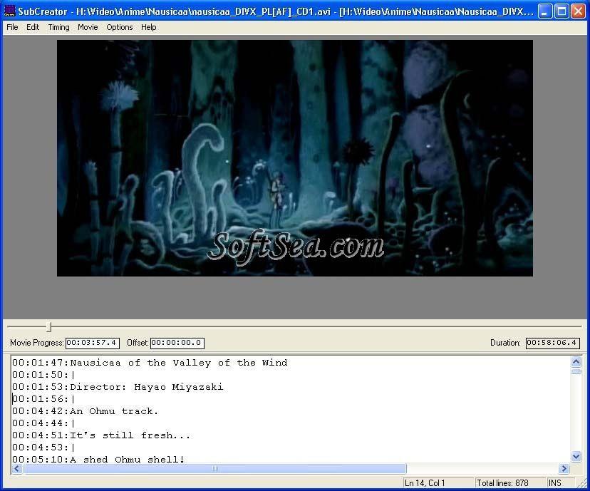 SubCreator Screenshot