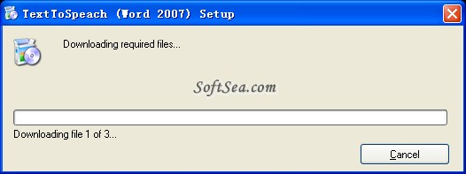 Text-To-Speech Screenshot