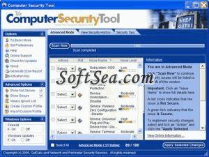The Computer Security Tool Screenshot