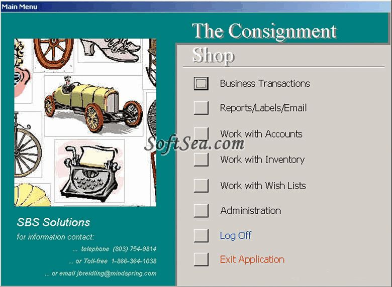 The Consignment Shop Screenshot