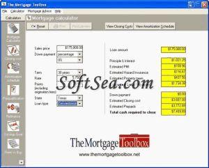The Mortgage Toolbox Screenshot