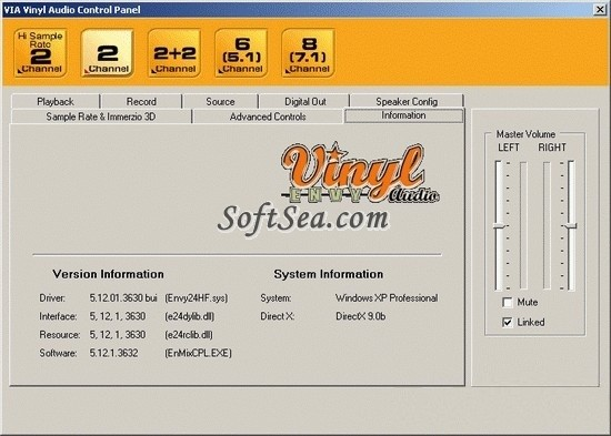 Vinyl AC 97 Codec Combo Driver (WDM) Driver Download