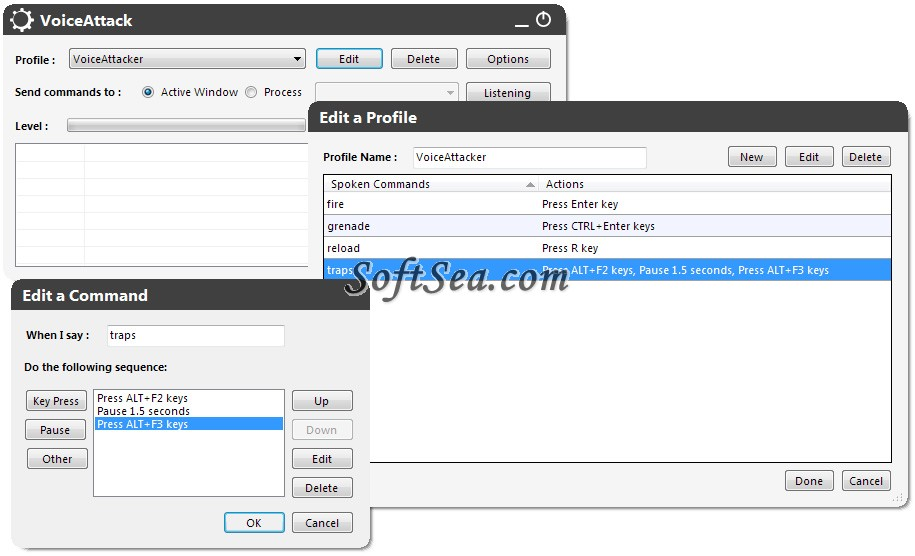 VoiceAttack Screenshot