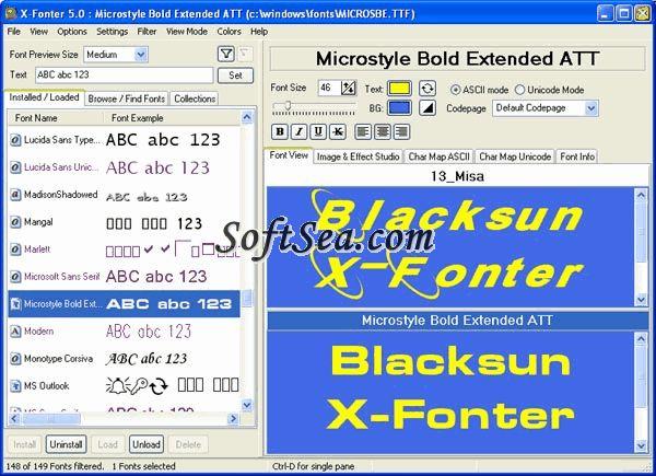 X-Fonter Screenshot