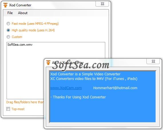 Xod Converter Screenshot