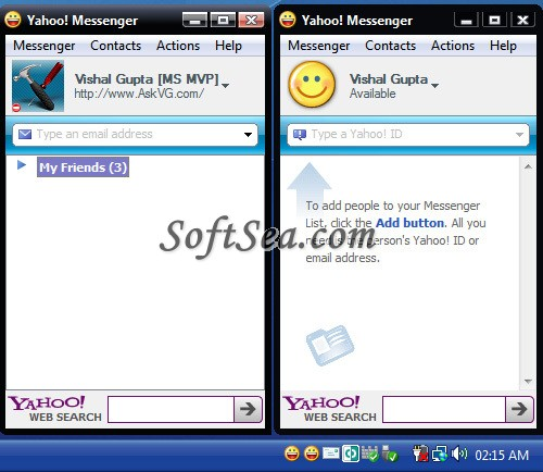 Yahoo Multi Messenger Screenshot