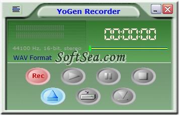 YoGen Recorder Screenshot