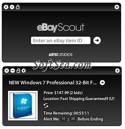 eBayScout Screenshot