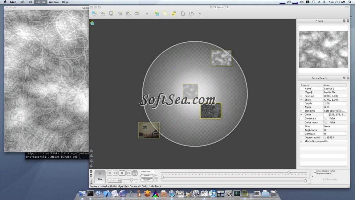 glMixer Screenshot