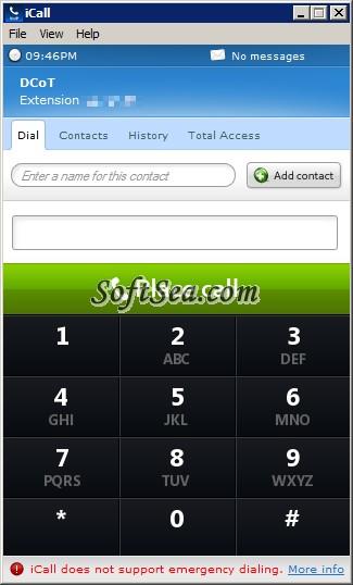 iCall Screenshot