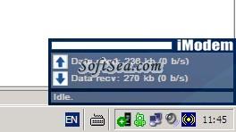 iModem Screenshot