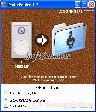 iPod Folder Screenshot