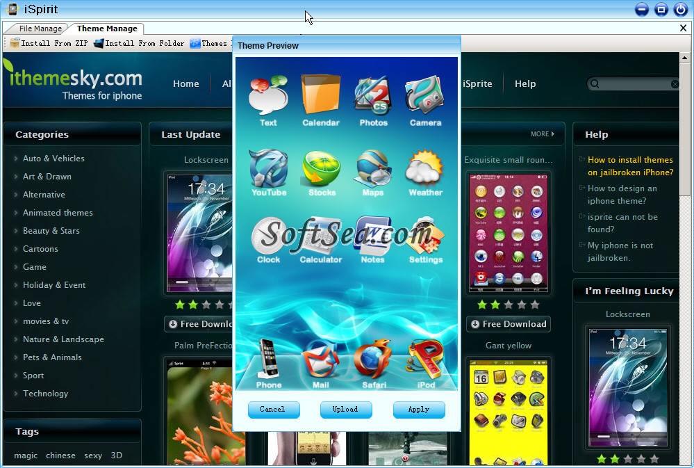 iSpirit Screenshot