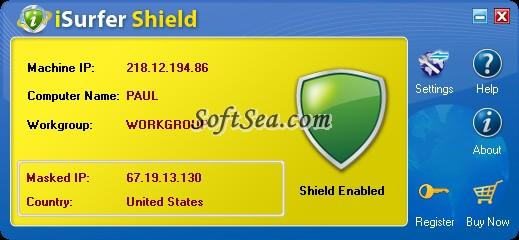 iSurfer Shield Screenshot