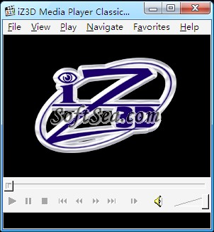 iZ3D Media Player Classic Screenshot