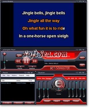 pcSongster PC Karaoke Player Screenshot