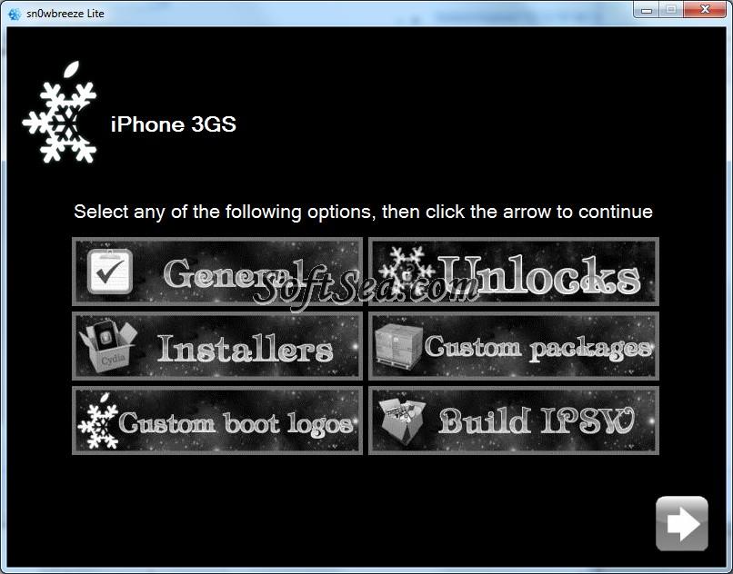 sn0wbreeze Screenshot