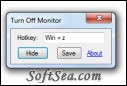Turn Off Monitor Freeware