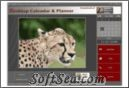 Wildlife Pictures Desktop Calendar and Planner